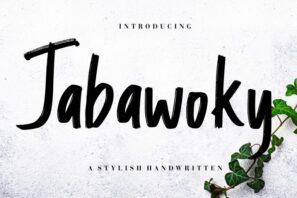 Jabawoky Stylish Handwritten