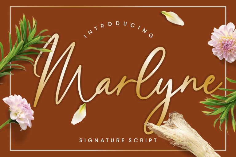 Preview image of Marlyne Signature Script