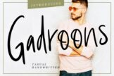 Last preview image of Gadroons Casual Handwritten
