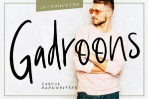 Gadroons Casual Handwritten