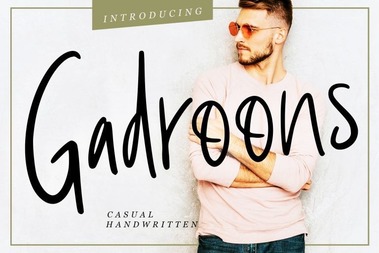 Preview image of Gadroons Casual Handwritten