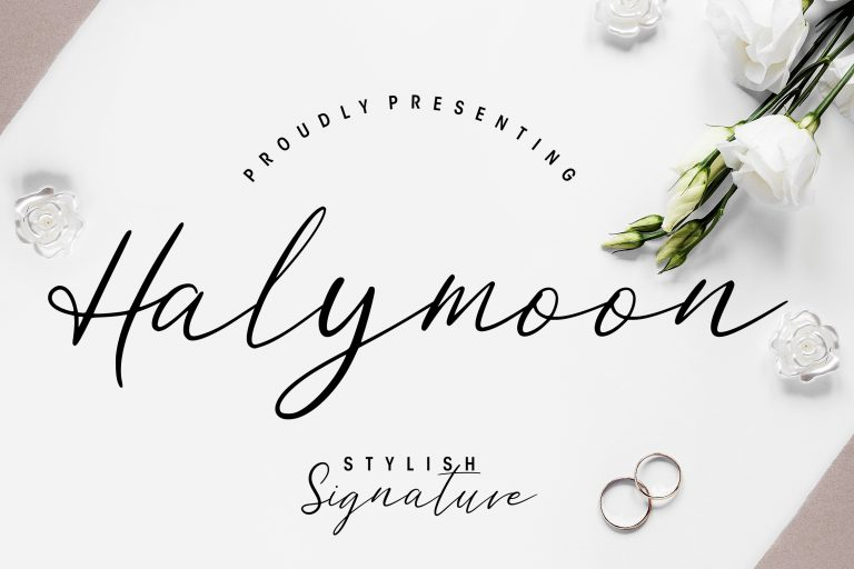 Preview image of Halymoon Stylish Signature