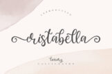 Last preview image of Cristabella Luxury Calligraphy
