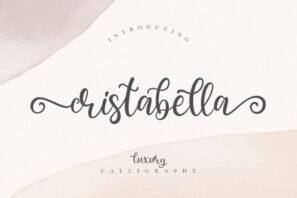 Cristabella Luxury Calligraphy