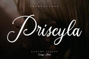 Priscyla Luxury Script