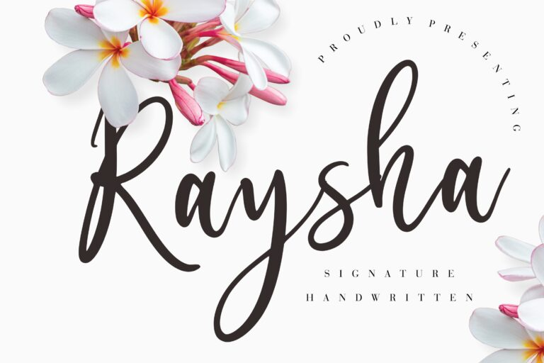 Preview image of Raysha Signature Handwritten