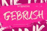 Last preview image of Gebrush Handbrush Stylish