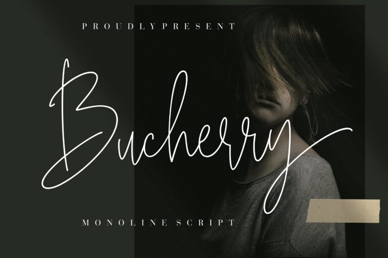 Preview image of Bucherry Monoline Script