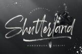Last preview image of Shutterland Handbrush Script
