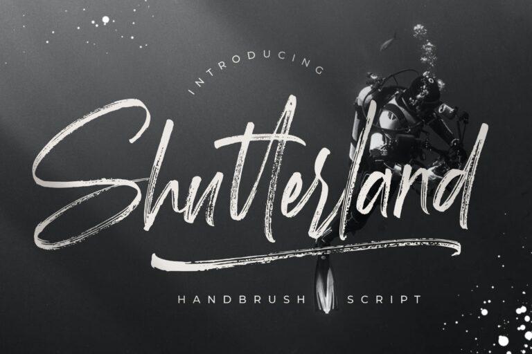 Preview image of Shutterland Handbrush Script