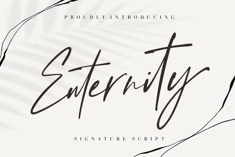 Preview image of Enternity Signature Script