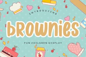 Brownies Fun Children Display