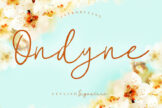 Last preview image of Ondyne Stylish Signature