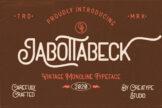 Last preview image of Jabottabeck Vintage Monoline