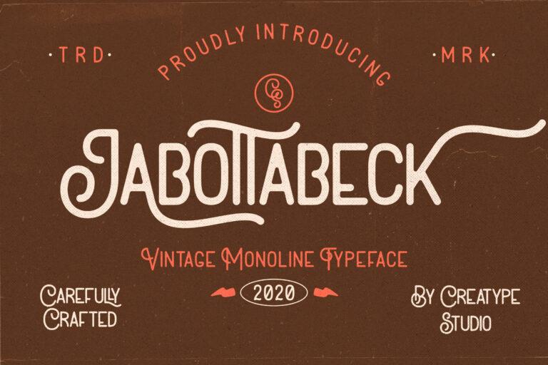 Preview image of Jabottabeck Vintage Monoline