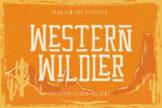 Last preview image of Western Wildler Slab Vintage
