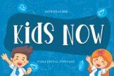 Last preview image of Kids Now Fun & Joyful Typeface