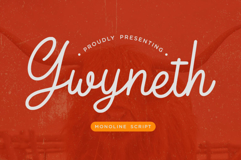 Preview image of Gwyneth Monoline Script