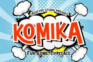 Komika Fun Comic Typeface