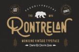 Last preview image of Rontrelan Monoline Vintage