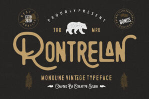 Rontrelan Monoline Vintage