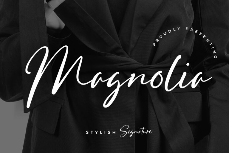 Preview image of Magnolia Stylish Signature
