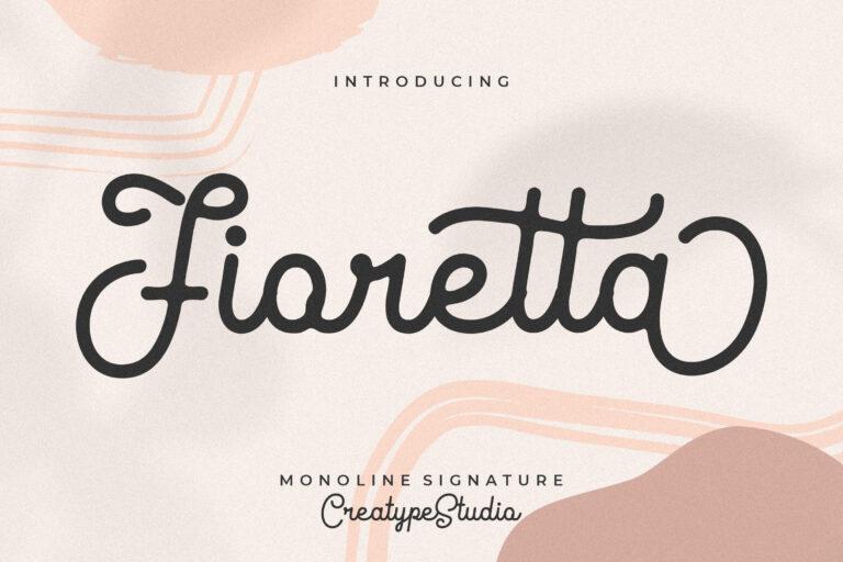 Preview image of Fioretta Monoline Signature