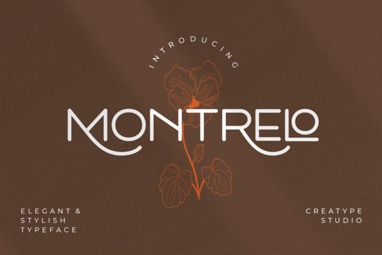 Preview image of Montrelo Elegant Sans Serif