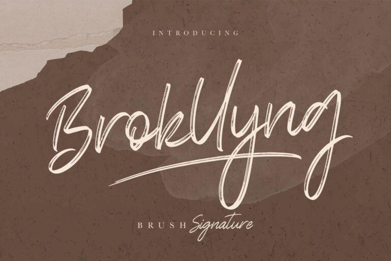 Preview image of Brokllyng Brush Signature