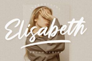 Elisabeth Brush Script