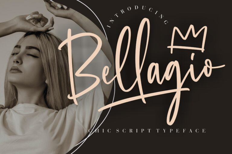 Preview image of Bellagio Chic Script Typeface