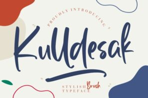 Kulldesak Stylish Brush