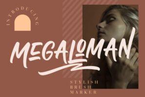 Megaloman Brush Marker