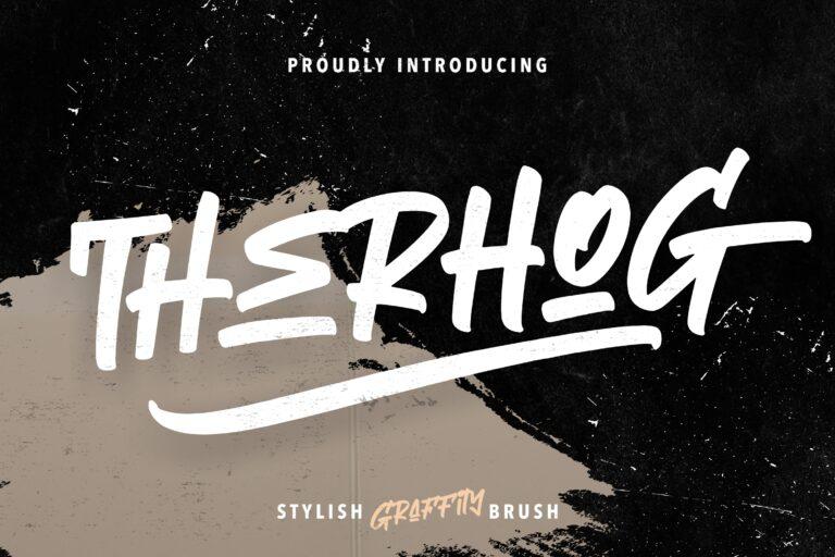 Preview image of Therhog Graffiti Brush