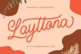 Last preview image of Layttona Stylish Monoline