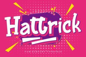 Hattrick Fun Children Typeface