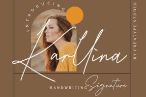 Karllina Handwriting Signature