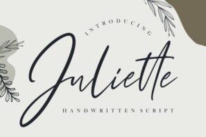 Juliette Handwritten Script