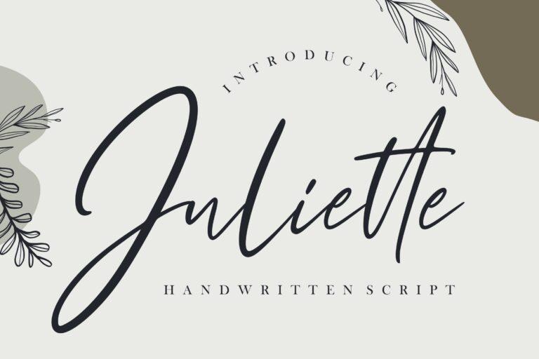 Preview image of Juliette Handwritten Script