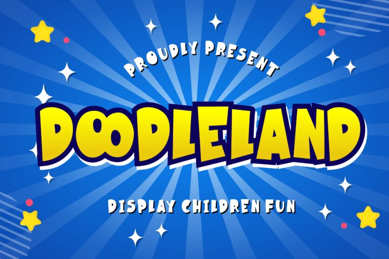 Preview image of Doodleland Display Fun Children