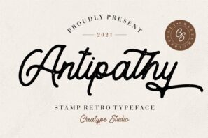 Antipathy Stamp Retro