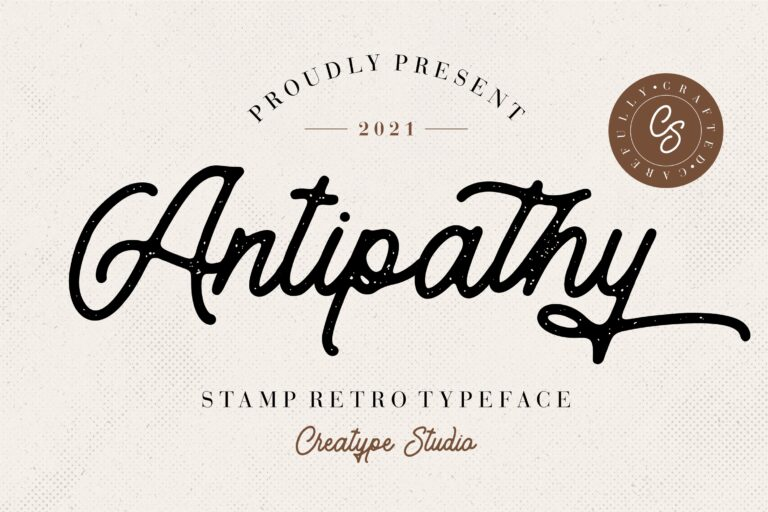 Preview image of Antipathy Stamp Retro