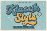 Last preview image of Klassik Style Retro Bold Script