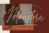 Last preview image of Monstera Signature Monoline