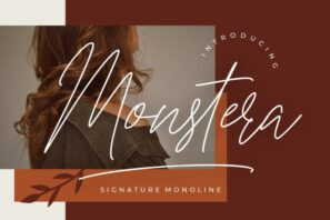 Monstera Signature Monoline