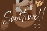 Last preview image of Southwell Brush Script