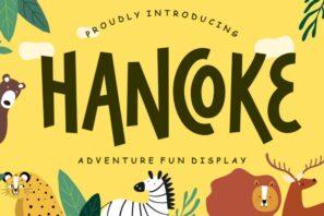 Hancoke Adventure Fun Display