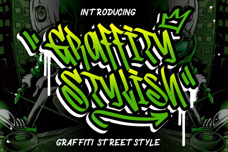 Preview image of Graffity Stylish Graffiti Street Style