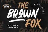 Last preview image of The Brown Fox Stylish Marker