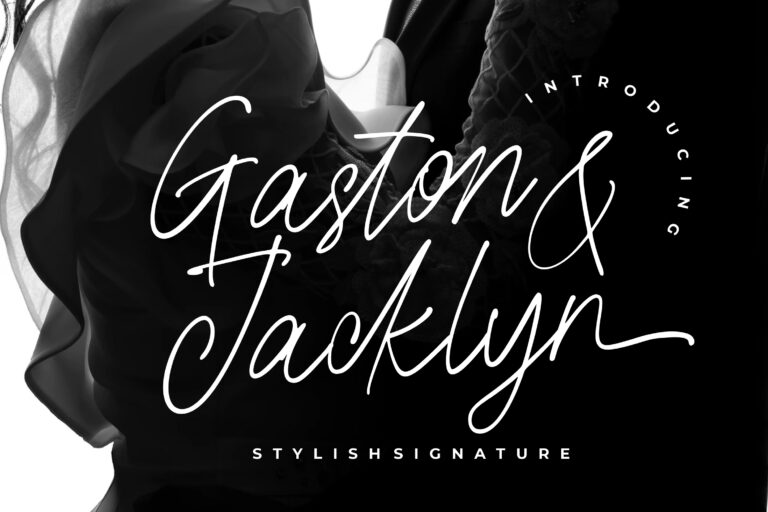 Preview image of Gaston & Jacklyn Stylish Signature